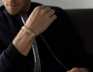 دستبند طلای مردانه